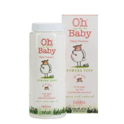 Oh my devita Baby Powder Puff Talc Free Baby Powder 4 oz