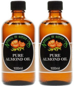 (2 Pack) - Natural By Nature Oils - Almond Oil NBN-111 | 100ml | 2 PACK BUNDLE