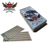 50 X MTS Tattoo Needle - Magnum Curved Shaders 11 RM