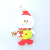 Cute Christmas Santa Snowman Reindeer Xmas Party Tree Ornaments Gift