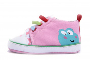 YL Baby Girl's Canvas Sneakers Size 1,2,3 Red/Pink