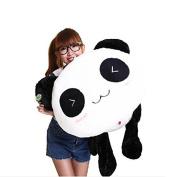 "Kawaii Interesting amazing Cute Panda Pillow Soft Plush Toy Stuffed Smiling Lying Animal 70CM (27"") triangle eye"
