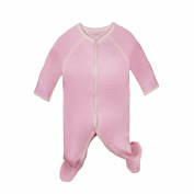 Sleepsuits with Feet miSafes Baby Grow Bodysuits Entire Piece for Baby Newborn Unisex Boys Girls Pink Stripe Sizes Available 0-3 Months