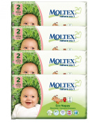 Pack of 4 Moltex Mini Nappies Size 2