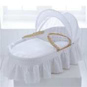ROHI Baby Doll Bedding Pique Moses Basket