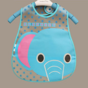 Bluelans® Lovely Cute Cartoon Pattern Toddler Baby Waterproof Saliva Towel Baby Bib