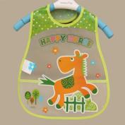 Bluelans® Lovely Cute Cartoon Pattern Toddler Baby Waterproof Saliva Towel Baby Bib