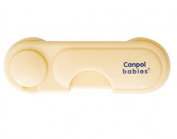 SAFETY LOCK Canpol Adhesive Child Baby Cabinet Door Fridge Drawer Cupboard 2/688 _CREAM