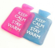 Keep Calm & Stay Warm Instant Heat Gel Hand Warmers (Pink) by Sherwood