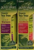 Australian Tea Tree Organic Anti-Dandruff Shampoo 250ml & Conditioner 250ml