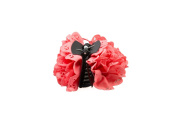 Mytoptrendz® Ladies Soft Fabric Flower Hair Claw Clips Clamp Grip Hair Accessories In 4 Colour
