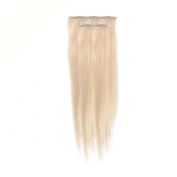 Clip In Hair | Human Hair Extensions | Full Head | 46cm PowWow Blonde Col