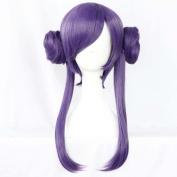 Etruke Long Women Hair Love Live Tojo Nozomi Purple Clip On Ponytail Cosplay Wigs
