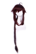Etruke Anime Vocaloid China Pigtail Ling Caiyin Heat Resistant Cosplay Wigs
