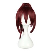 Etruke Rose Anime Long Clip On Ponytail Free Gou Matsuoka Cosplay Wig
