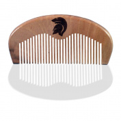 Wooden Beard Comb For Masculine Men By Spartan Beard Co