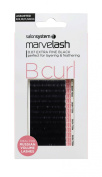 marvelash B Curl Lashes 0.07 Ultra Fine, Assorted Black