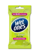 Wet Ones Be Zingy Antibacterial Wipes Pack of 6 by Energizer Group