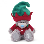 Me to You 15cm Tatty Teddy Bear Dressed as a Elf Sits