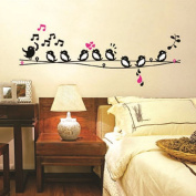 Walplus Birds Love Song Wall Stickers