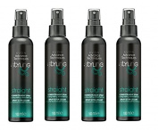 4 x 100ml Avon Advance Techniques styling power straight spray