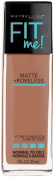 Maybelline New York Fit Me Matte Plus Poreless Foundation, Natural Tan, 1 Fluid Ounce