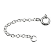 Sterling Silver Trace Chain Extender 2 - 10cm