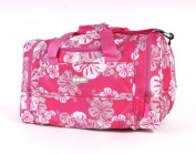 Ladies Large Floral Holdall Weekend Overnight Day Bag Luggage Sports Gym Travel
