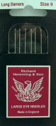 Richard Hemming Long Darners Sewing Needles Pkg of 5