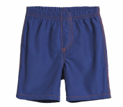 City Threads Big Boys' Solid Swimsuit Swim Trunks with Elastic Waist