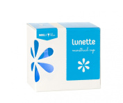 Lunette Menstrual Cup - Blue - Model 1 for Light to Medium Menstruation - Natural Alternative for Tampons and Sanitary Napkins