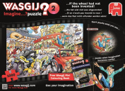 "Jumbo ""Wasgij"" Imagine 2 - If the wheel had not been invented! - 1000 Piece Jigsaw Puzzle - ""NEW DECEMBER 5120cm"