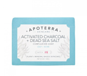 Apoterra Skincare - Organic Activated Charcoal + Dead Sea Salt Complexion Soap
