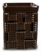 BROWN cheque FRAGRANCE WARMER - WAX MELTER by Boulevard