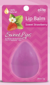 Lip Balm 100% Natural - Sweet Strawberry - Soothes and Moisturises Dry Chapped Lips