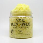 Acne Body Scrub (Vegan, 100% Natural, Organic, Essential Oils) 120ml
