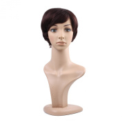 MelodySusie® Elegant Hairstyle Graceful Short Straight Soft Wig with Bangs