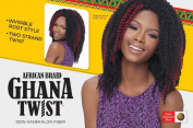 Harlem125 African Braid Ghana Twist 100% kanekalon Fibre 25cm 4