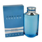Chrome Legend By Loris Azzaro For Men. Eau De Toilette Spray 120ml Bottle