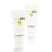 Avo365 - Nourishing Shampoo & Moisturising Conditioner (bundle) made with Cold Pressed Avocado Oil, Honey, Rosemary, Biotin, Baobab, Guava, Panthenol, Flax Seed and Tamarind