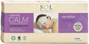 Lavender Eye Pillow Organic Cotton Hot & Cold Therapy SOL Organix
