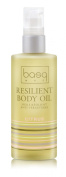 Basq Skin Care Resilient Body Stretch Mark Oil, Citrus, 4 Fluid Ounce