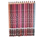 Datework Women's Professional Lipliner Waterproof Lip Liner Pencil 15CM 12 Colours Per Set Hot 2016