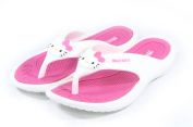 Hello Kitty Lovely Women Flip Flops Summer Slippers Shoes for Girls Beach Pool Pink US size 7