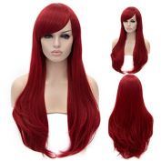 """26"""" 65cm Heat Resistant Cosplay Wig Long Curly Synthetic Hair Women Fashion Party Wig"""
