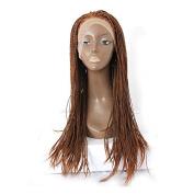 Platinumhair heavy Destiny Synthetic Lace Front Wig (Glueless,Heat Resistant Fibre Black 60cm )for black women