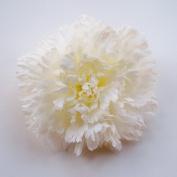 Carnation Artificial Hair Clip/Pin Brooch