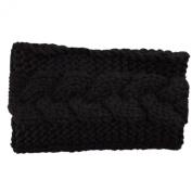 Wiipu Winter Ear Headwrap Crochet Knitted Headband Hairband