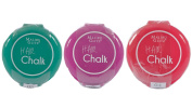 Malibu Glitz Hair Colouring Tools Set Of 3 Colours Hair Chalk 3pc