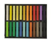 LIFECART 24PCs Non-Toxic Temporary Hair Pastel Chalk Beauty Kit - Mix Colour Variety Beauty Design
